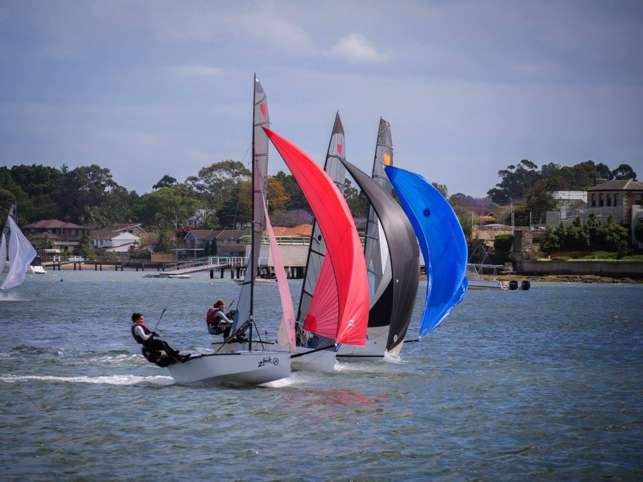Round 1b NSW Cherub State Championships  – Courses